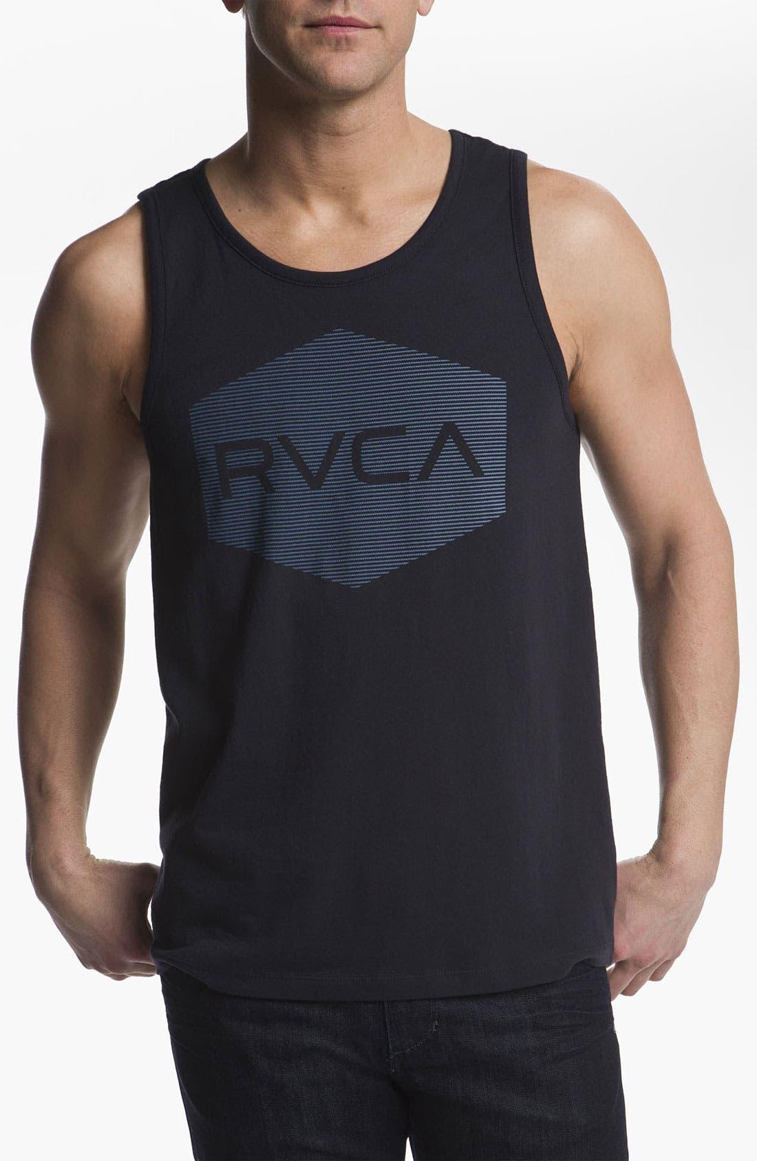 Alternate Image 1 Selected - RVCA 'Halftone Hex' Tank Top