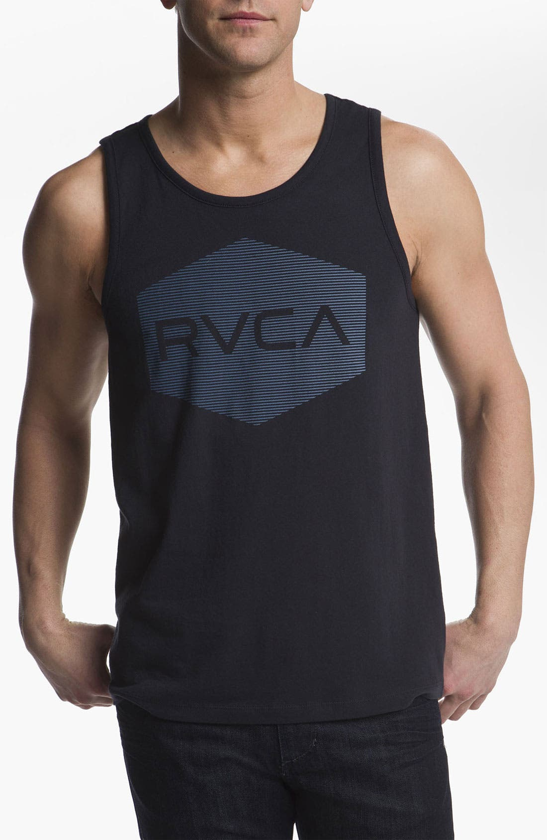 Main Image - RVCA 'Halftone Hex' Tank Top