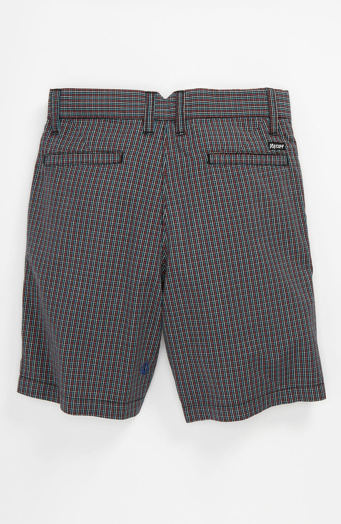 Alternate Image 2  - Volcom 'Rushy' Plaid Shorts (Toddler)