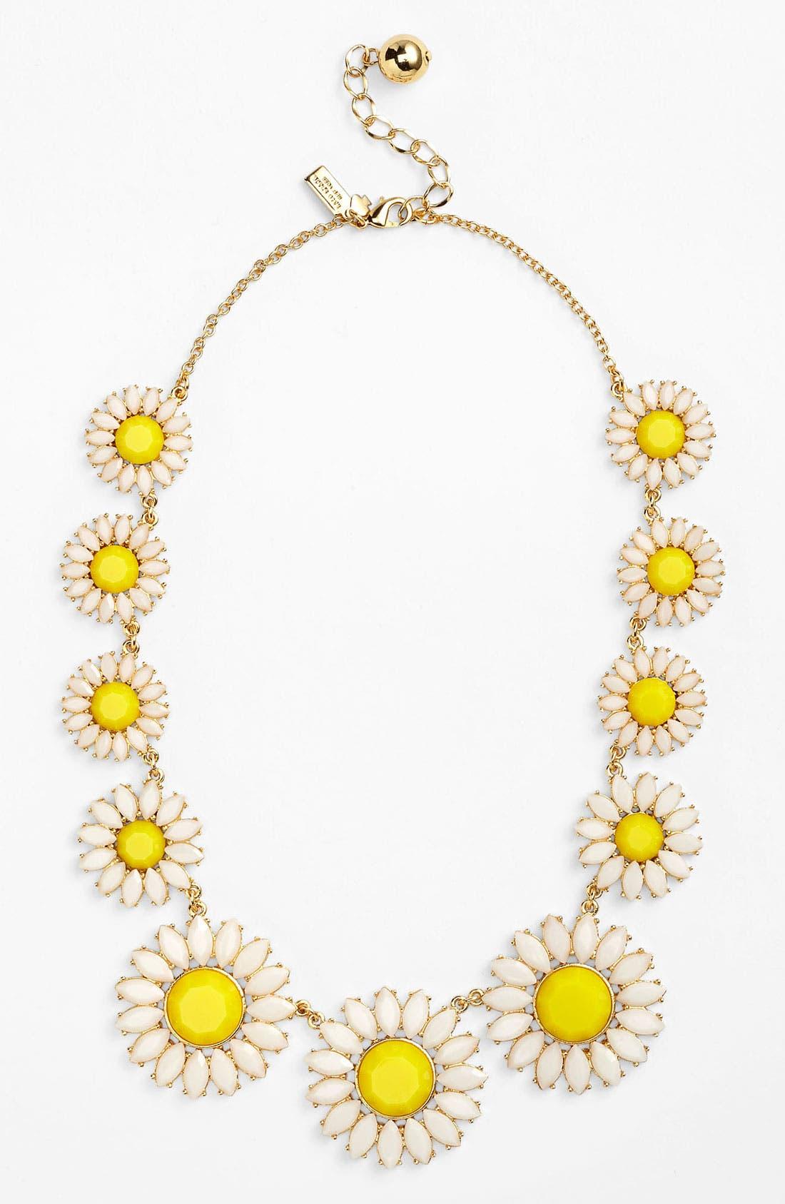 Alternate Image 1 Selected - kate spade new york 'estate garden' collar necklace