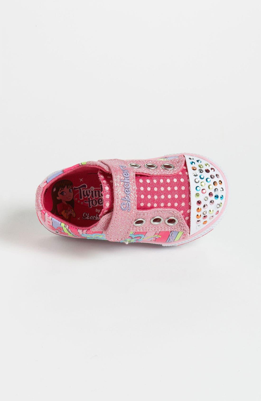 Alternate Image 3  - SKECHERS 'Twinkle Toes - Shuffles' Sneaker (Walker & Toddler)