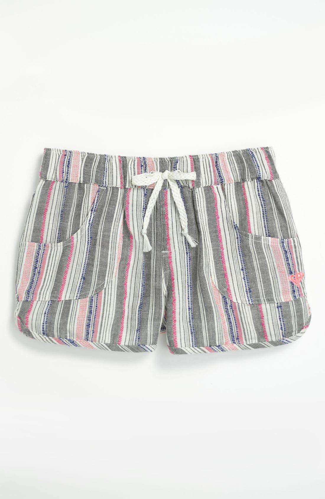 Alternate Image 1 Selected - Roxy 'Sweet & Sunny' Shorts (Big Girls)