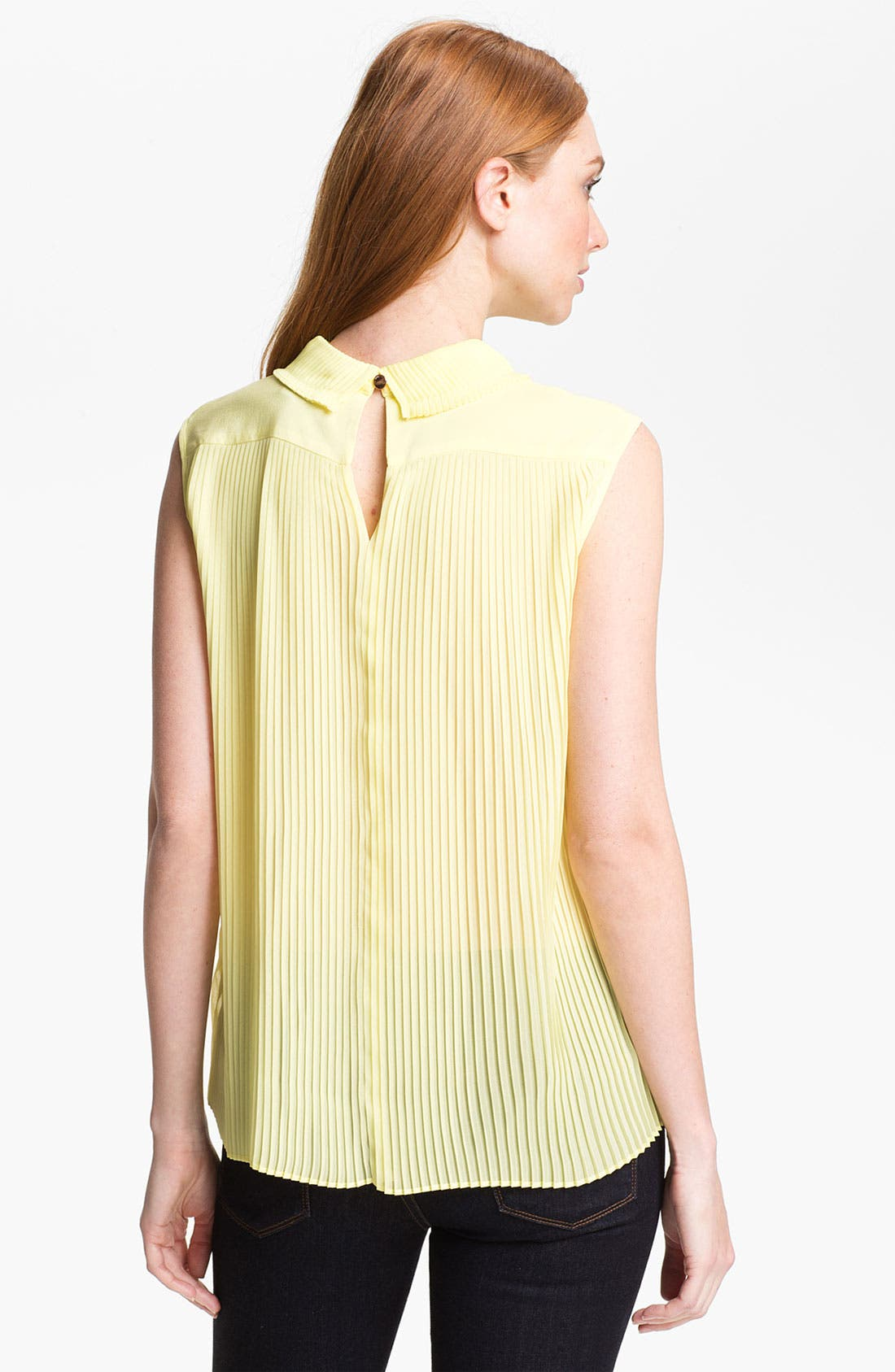 Alternate Image 2  - Ted Baker London Pleated Top (Online Only)