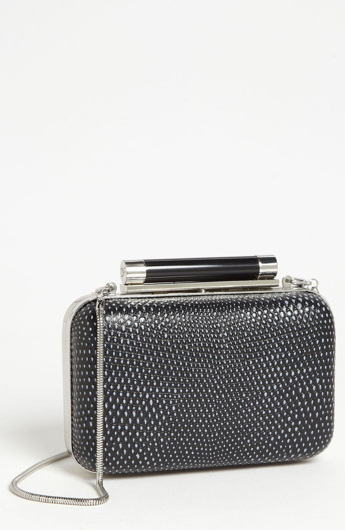 Alternate Image 1 Selected - Diane von Furstenberg 'Tonda - Small' Embossed Clutch