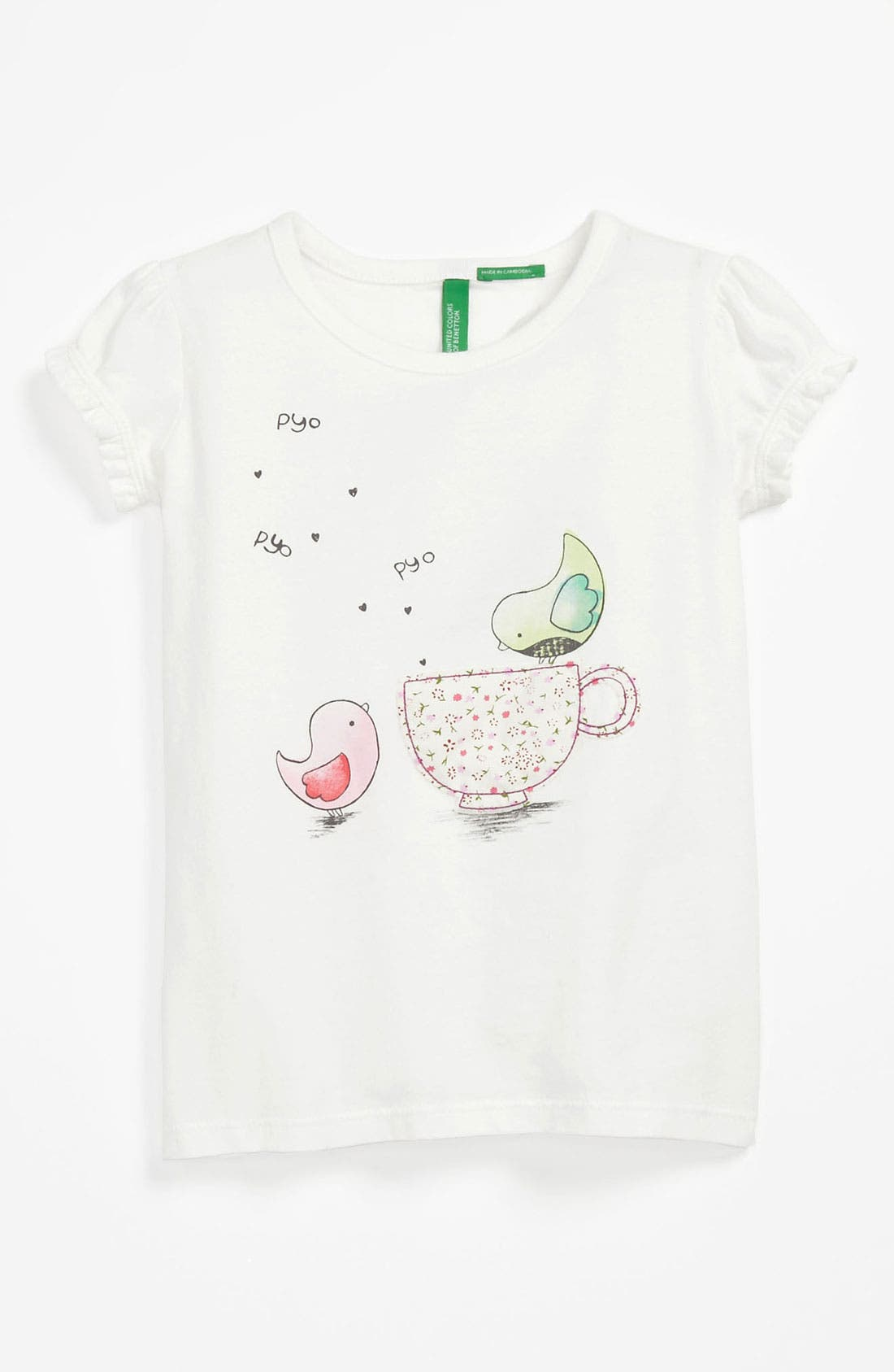 Alternate Image 1 Selected - United Colors of Benetton Kids Tee (Toddler)