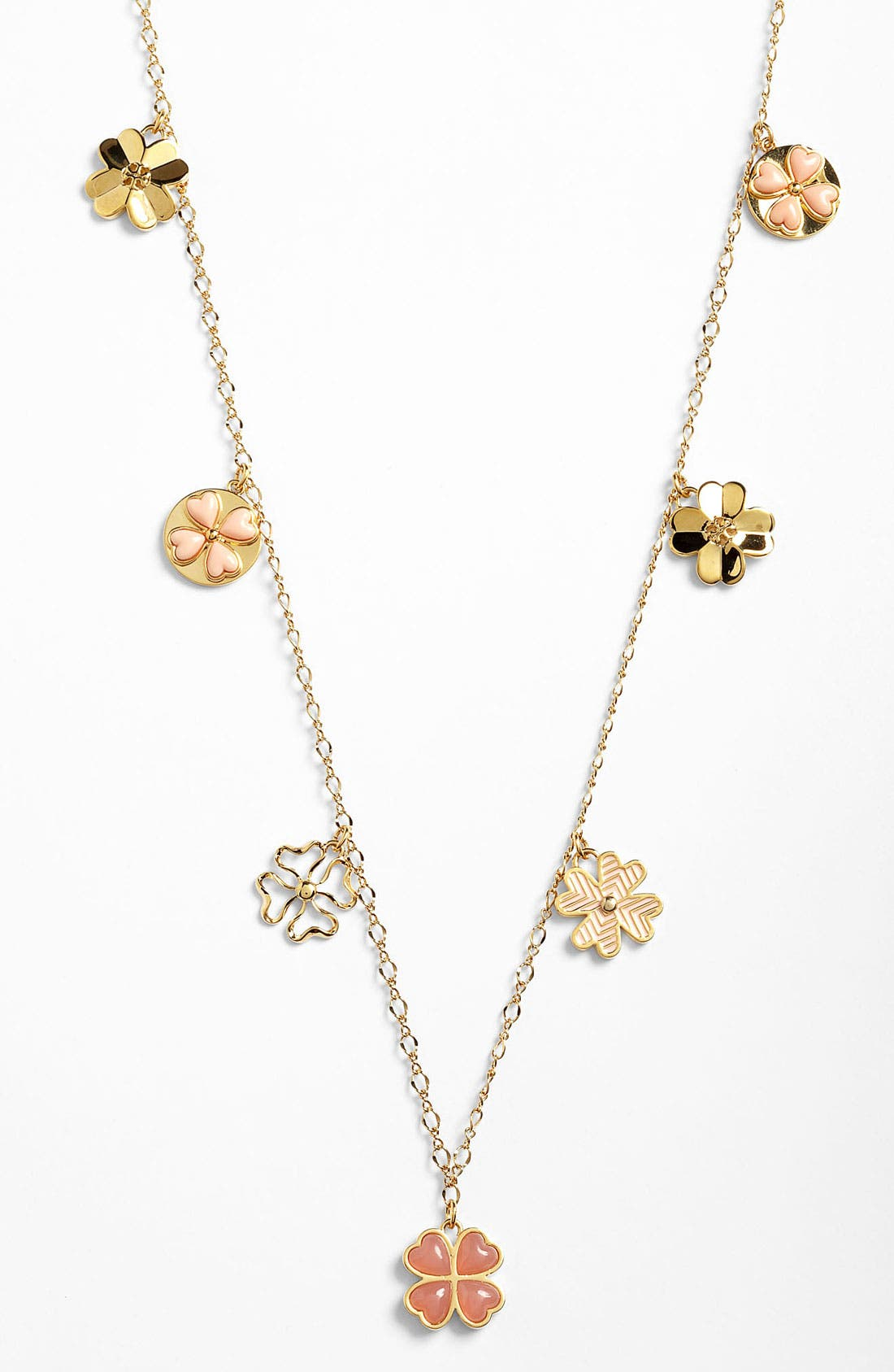 Main Image - Tory Burch 'Shawn' Long Station Necklace