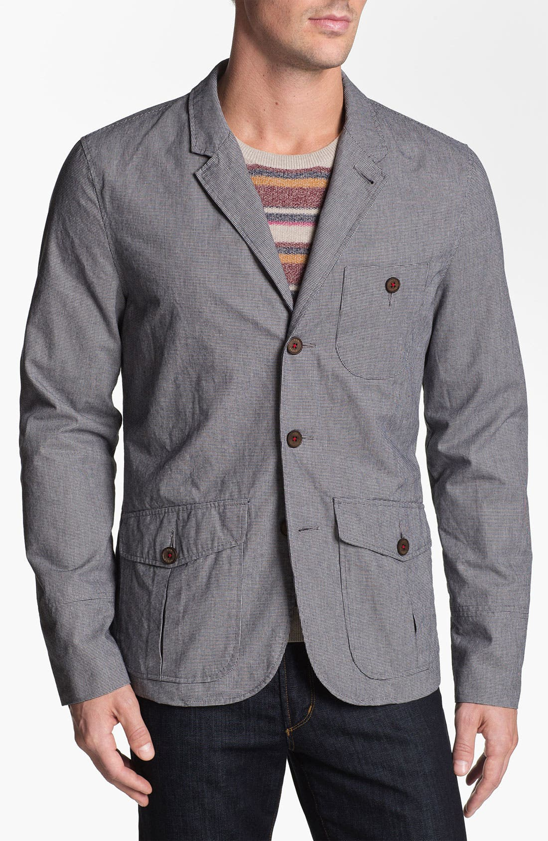 Alternate Image 1 Selected - Ted Baker London Cotton Sportcoat