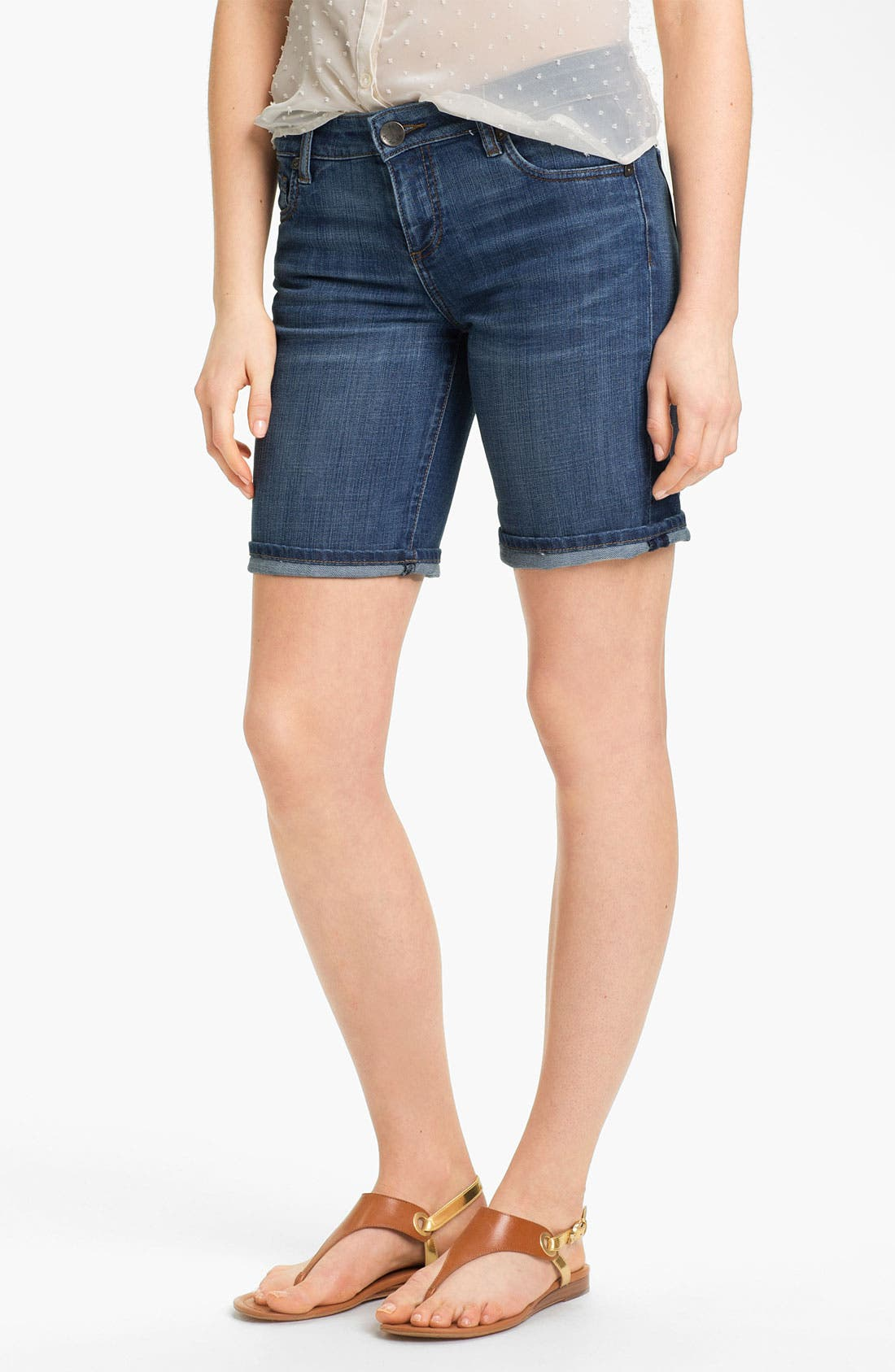 Main Image - KUT from the Kloth Boyfriend Denim Shorts