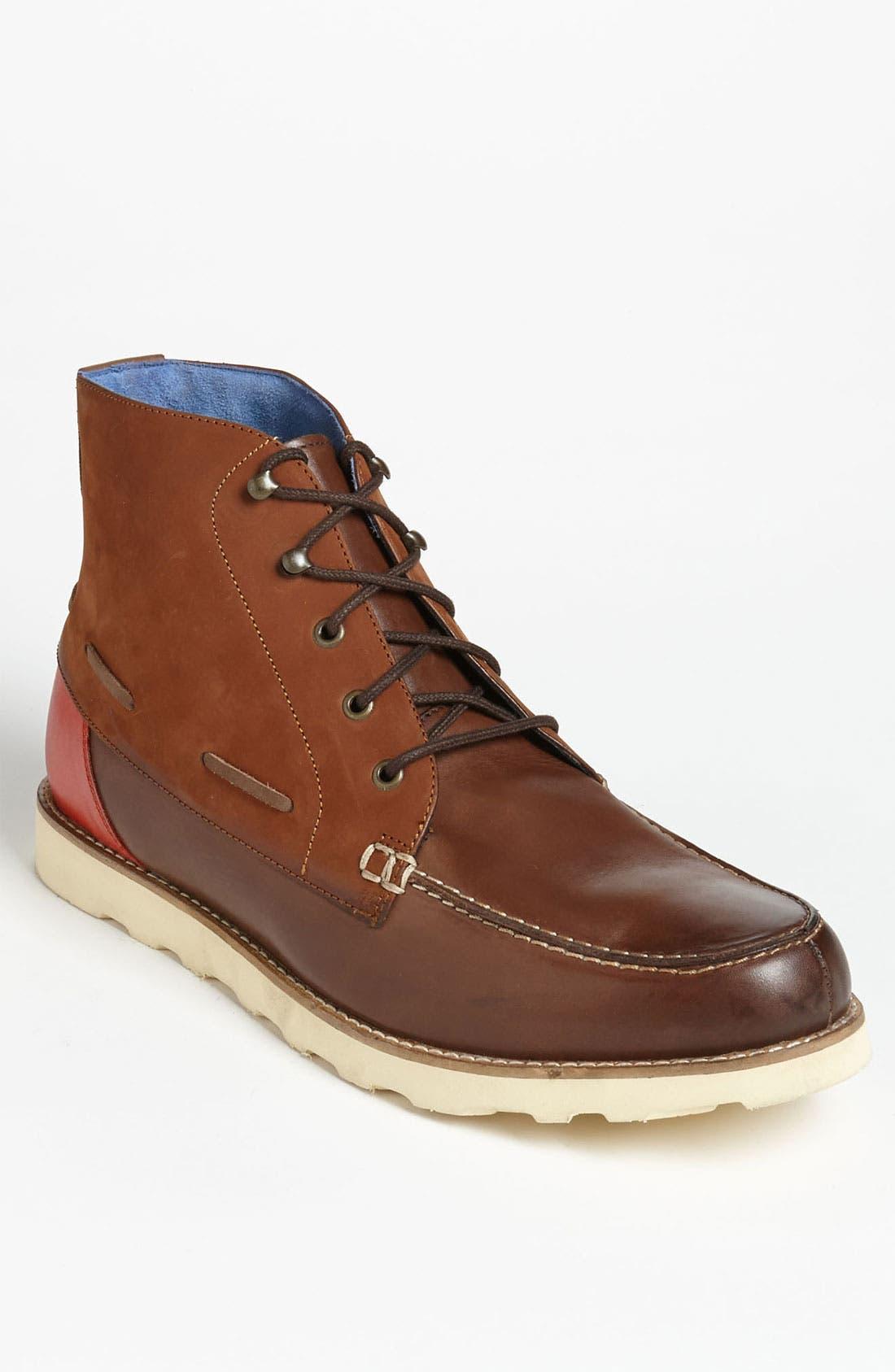 Alternate Image 1 Selected - Ted Baker London 'Murrt' Plain Toe Boot