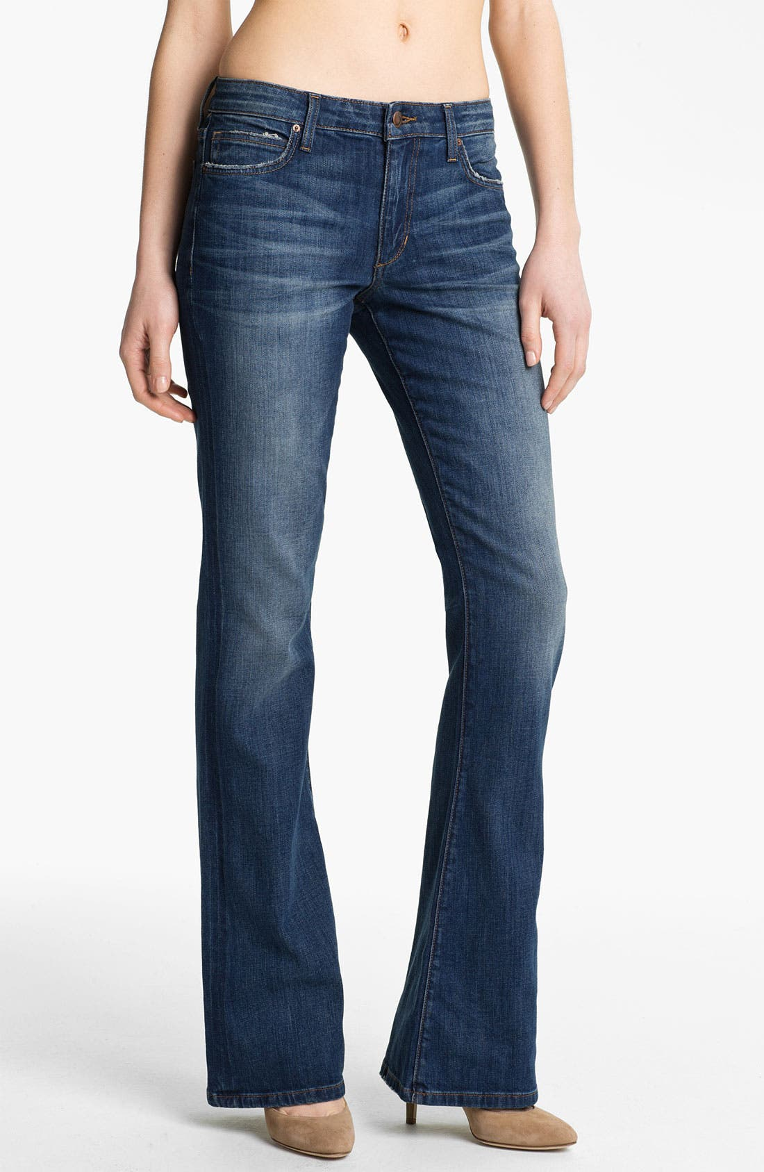 Alternate Image 1 Selected - Joe's 'Visionaire' Slim Bootcut Stretch Jeans (Melodie)