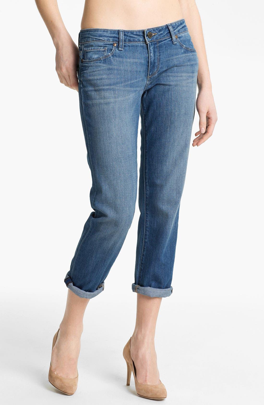 Alternate Image 1 Selected - Paige Denim 'James' Crop Jeans (Harper)