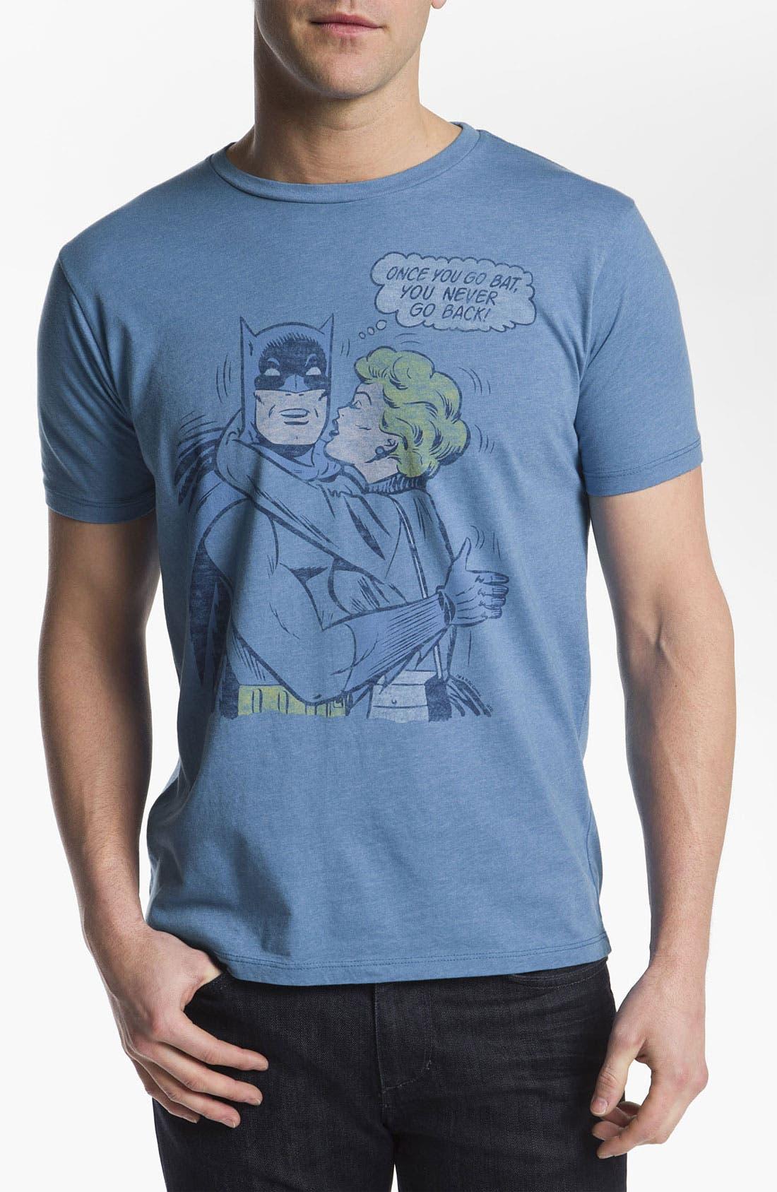 Alternate Image 1 Selected - Junk Food 'Once You Go Bat' T-Shirt
