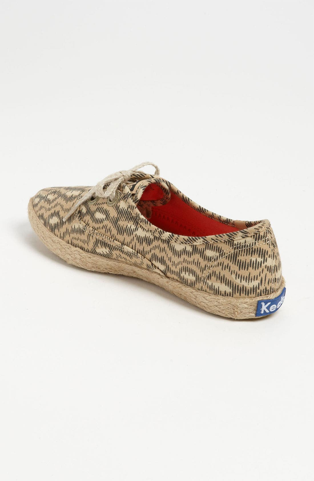 'Pointer Animal' Jute Trim Sneaker,                             Alternate thumbnail 2, color,                             Tan