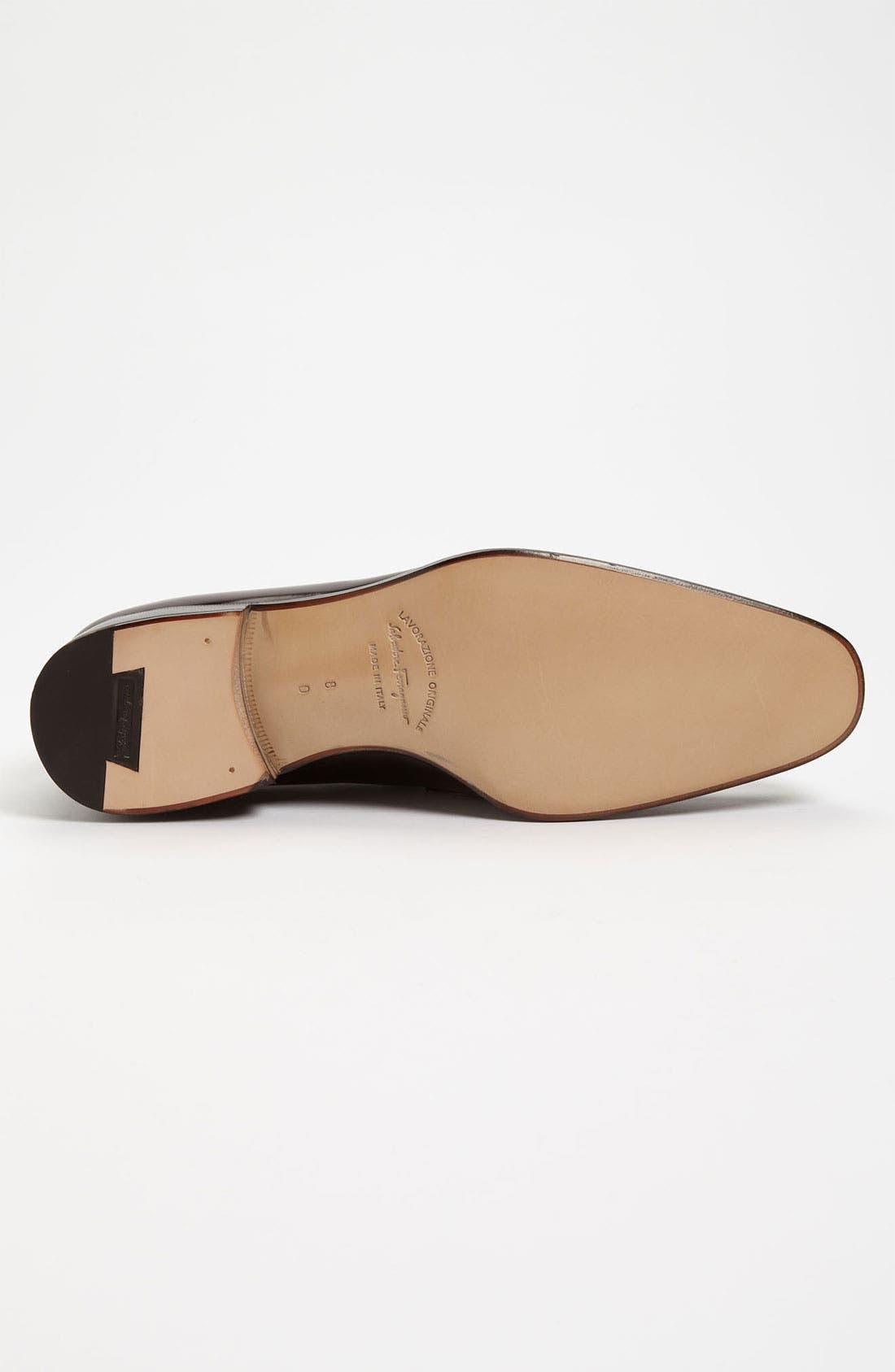 Alternate Image 4  - Salvatore Ferragamo 'Thames' Tassel Loafer