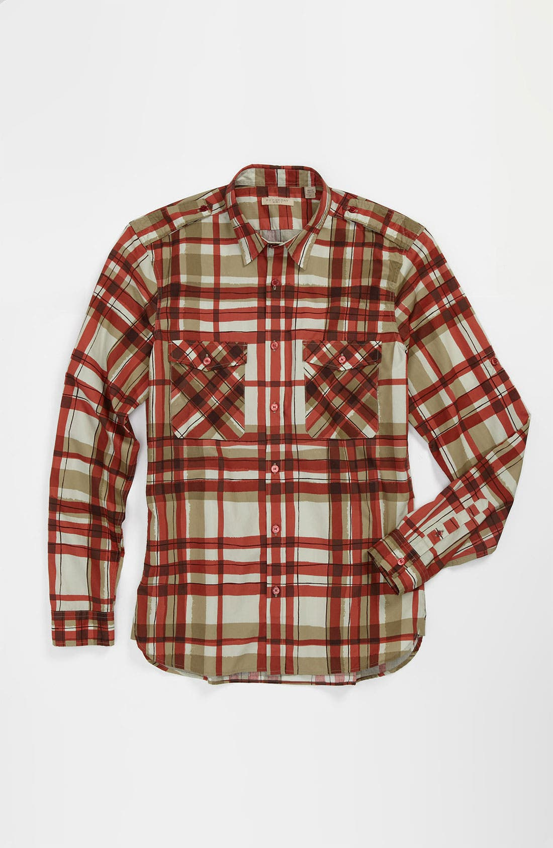 Alternate Image 4  - Burberry Brit 'Rainton' Trim Fit Sport Shirt