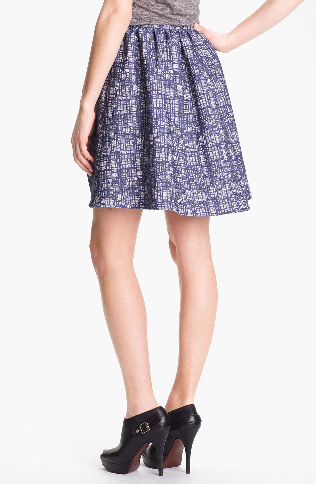 Alternate Image 2  - Man Repeller X PJK 'Wendy' Jacquard Skirt
