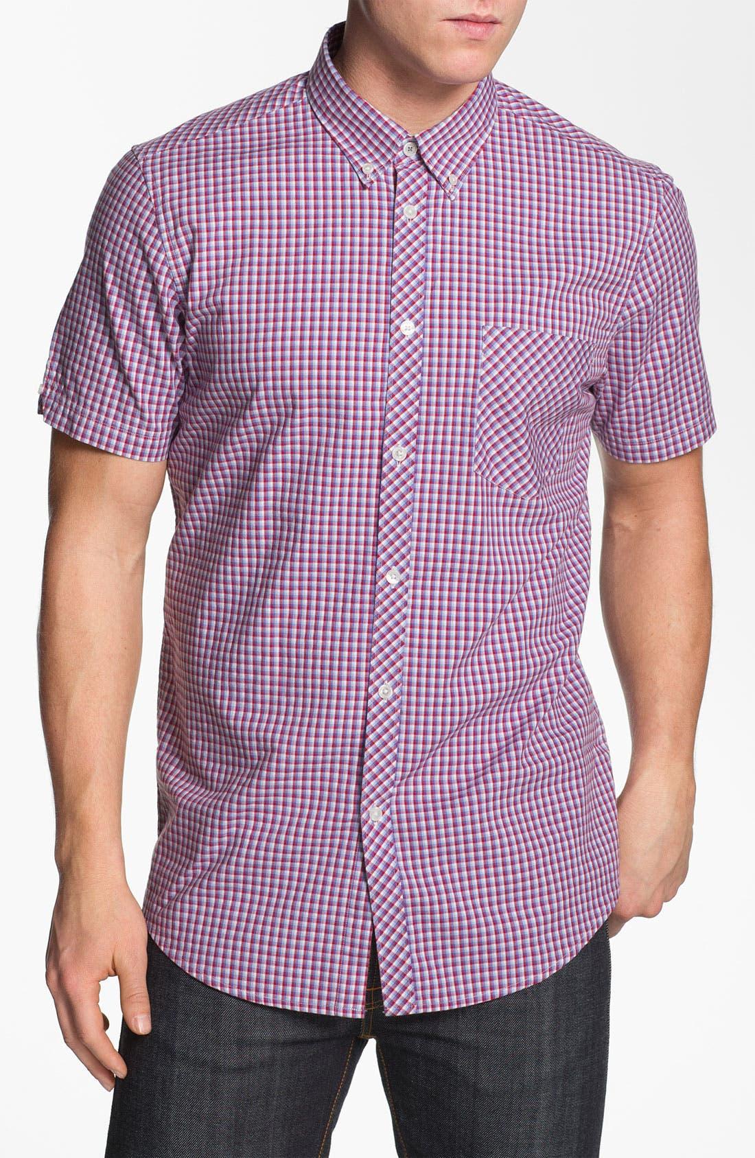 Alternate Image 1 Selected - Ben Sherman Short Sleeve Woven Shirt