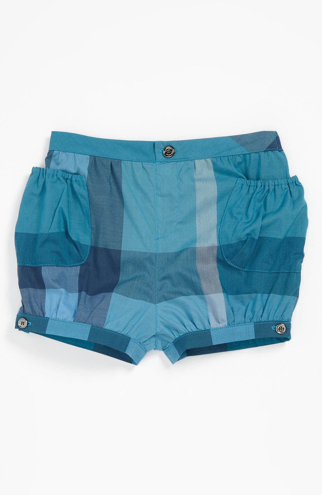 Main Image - Burberry 'Meghan' Shorts (Baby)