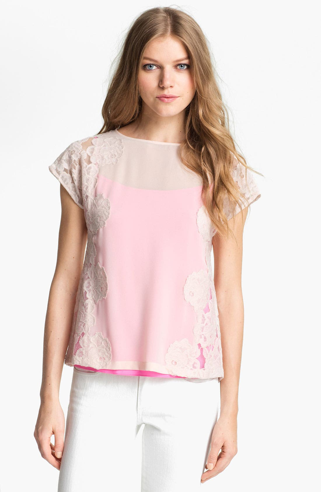 Main Image - Ted Baker London Lace Top