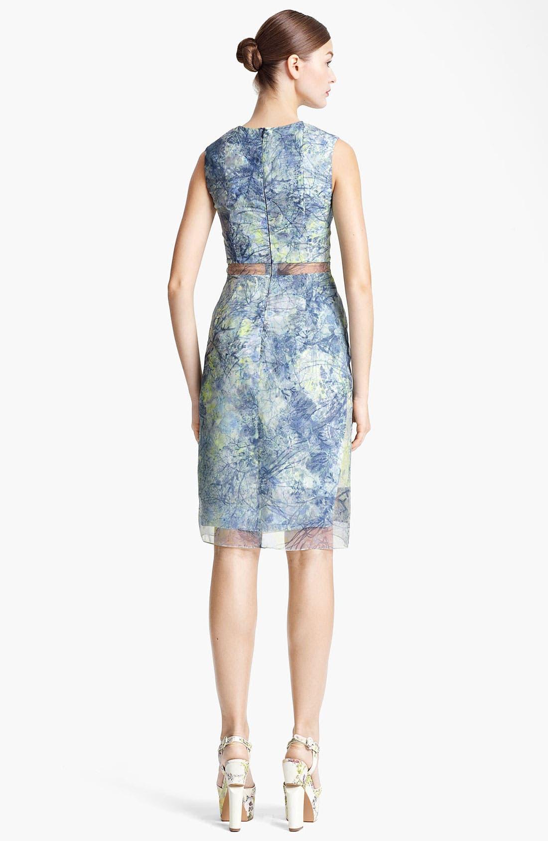 Alternate Image 2  - Erdem 'Helena - Sache Print' Organza Dress