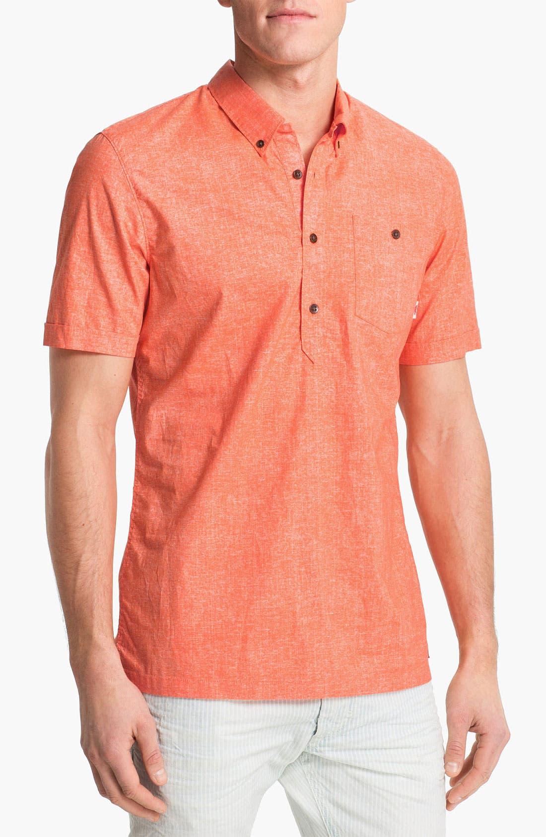 Alternate Image 1 Selected - Vans 'Redding' Pullover Woven Shirt