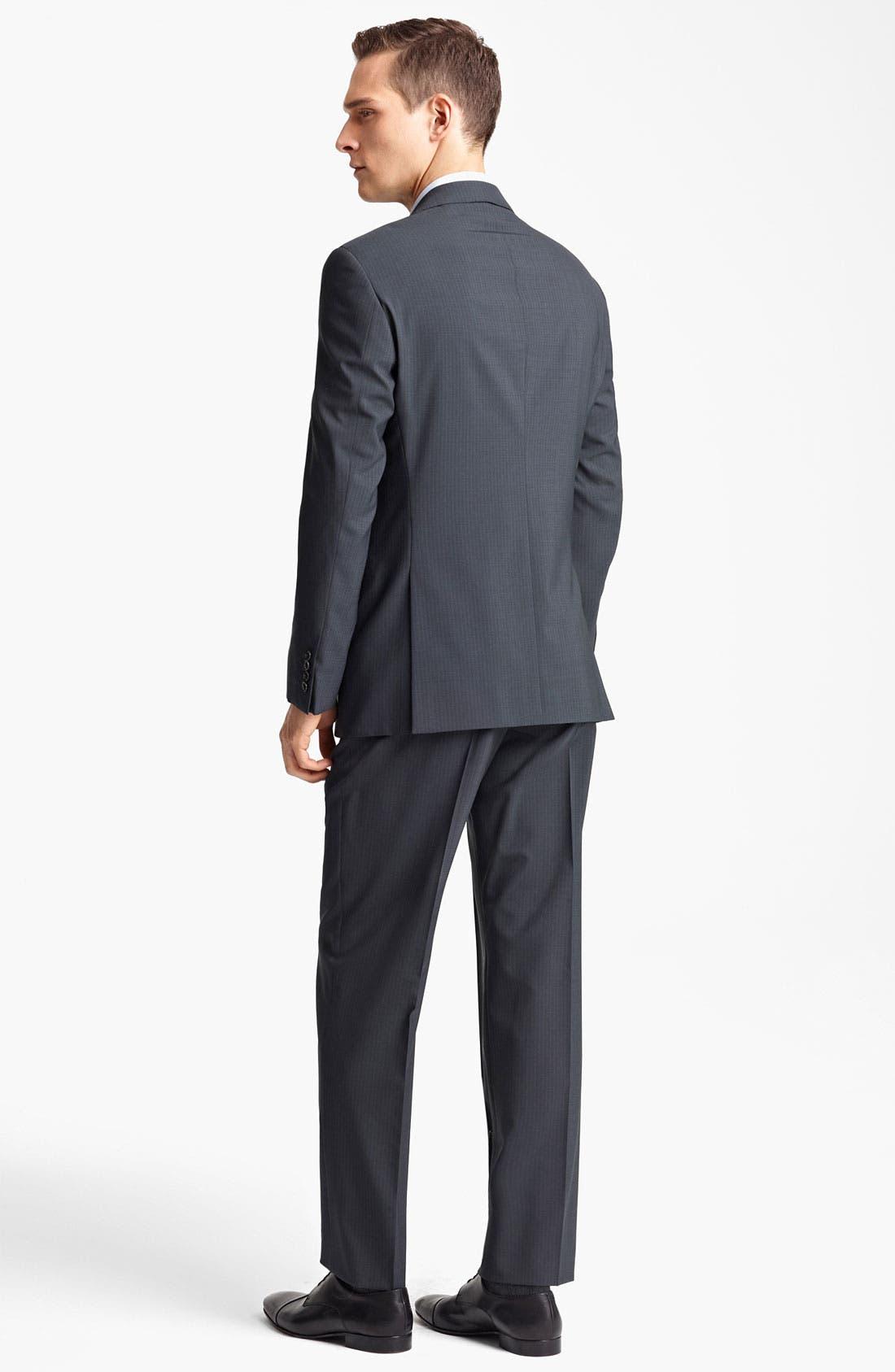 Alternate Image 3  - Armani Collezioni 'Giorgio' Pinstripe Suit