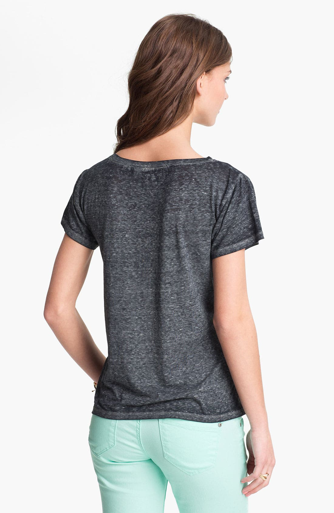 Alternate Image 2  - Threads for Thought Mélange Tee (Juniors)