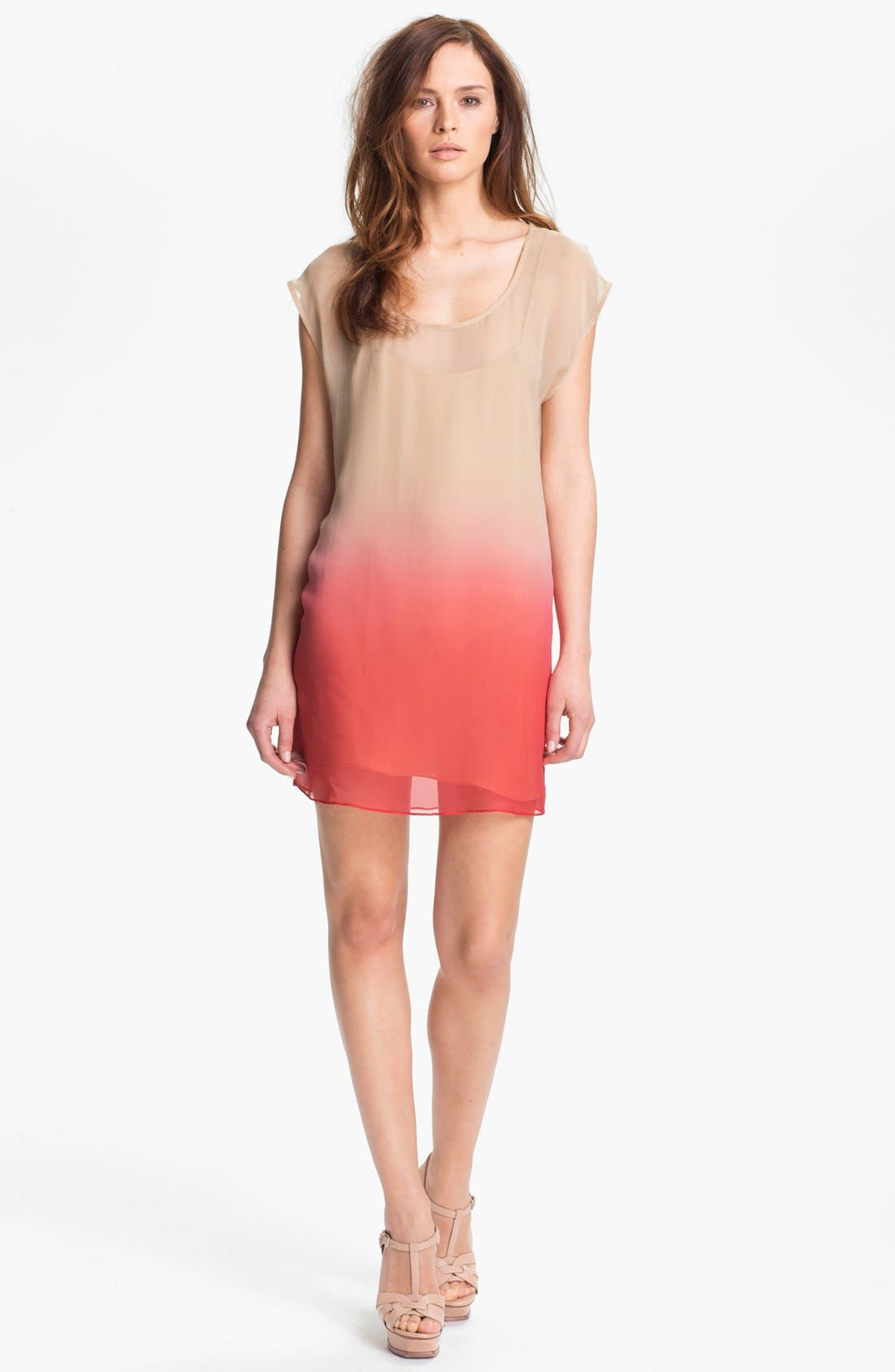 Main Image - Haute Hippie Ombré Silk Chiffon Dress
