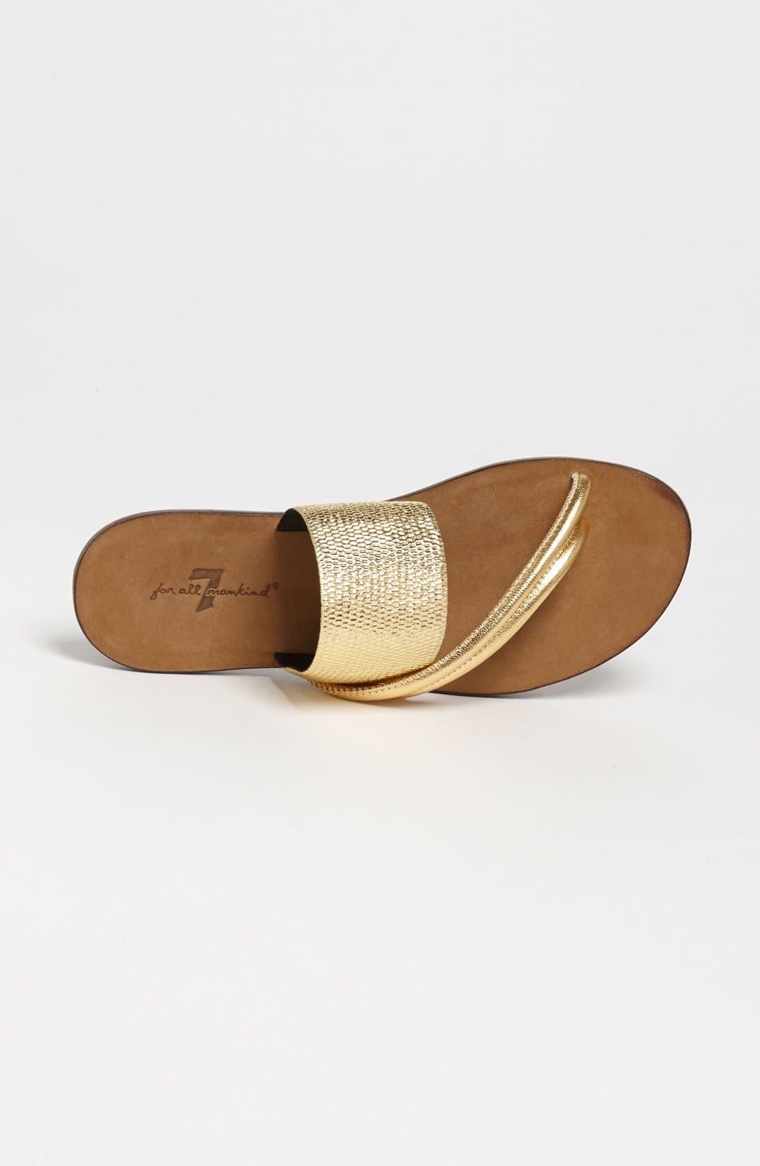 Alternate Image 3  - 7 For All Mankind® 'Zaira' Sandal (Online Only)