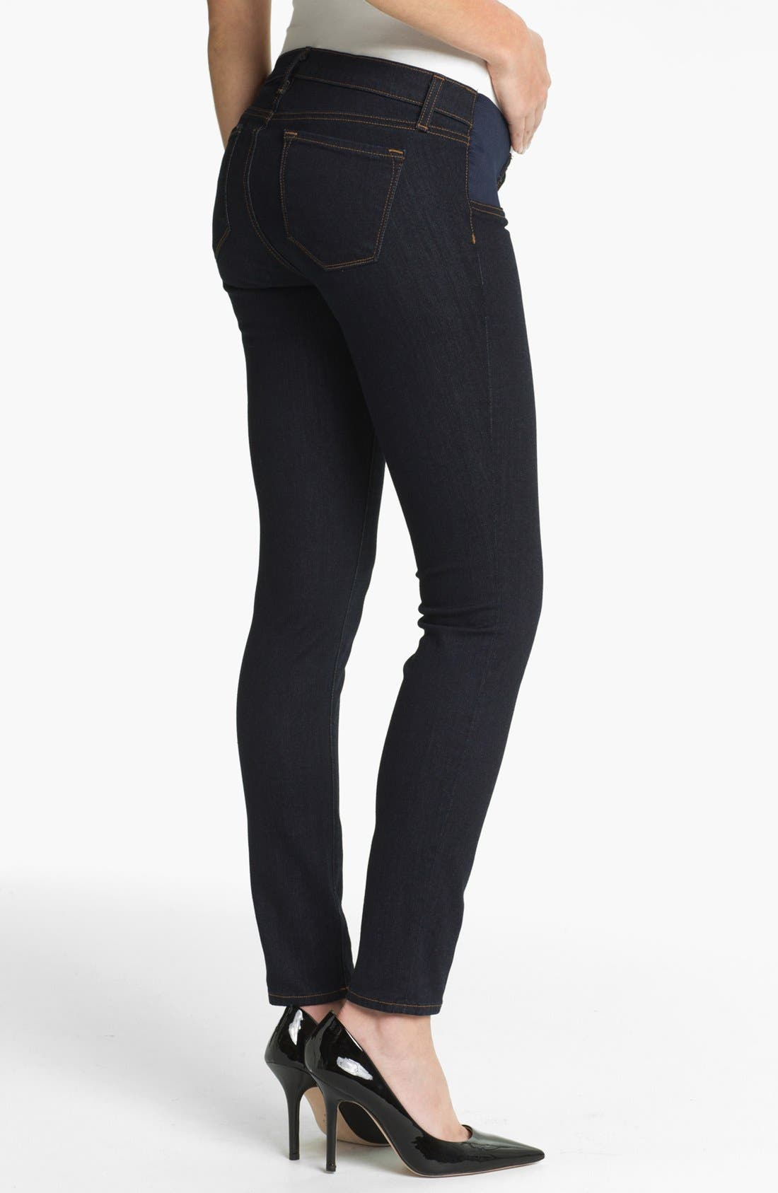 Alternate Image 2  - J Brand Denim Maternity Leggings (Starless)