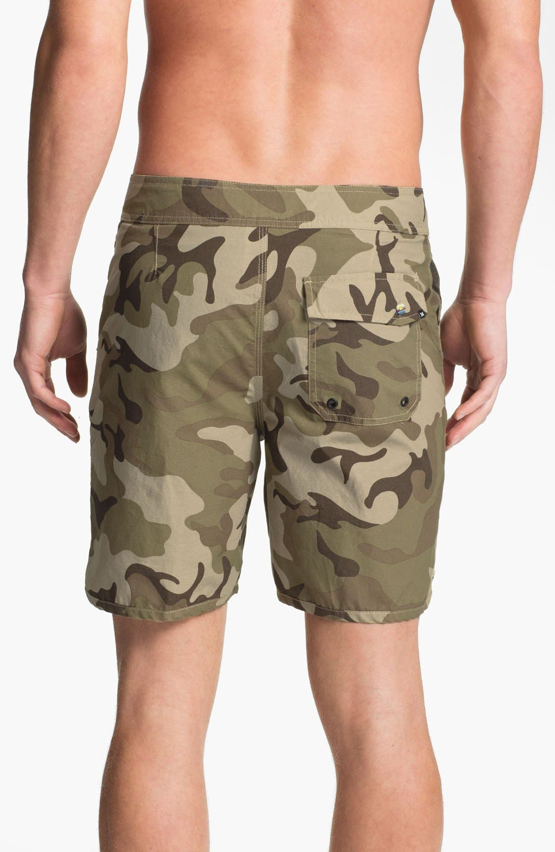 Alternate Image 2  - Hurley 'Cool by the Pool' Hybrid Board Shorts