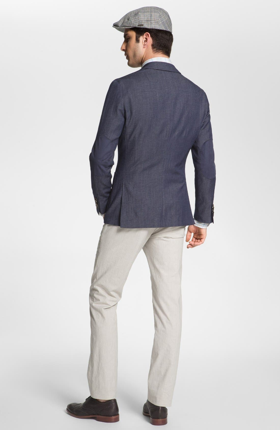 Alternate Image 5  - Toscano Linen Sport Shirt