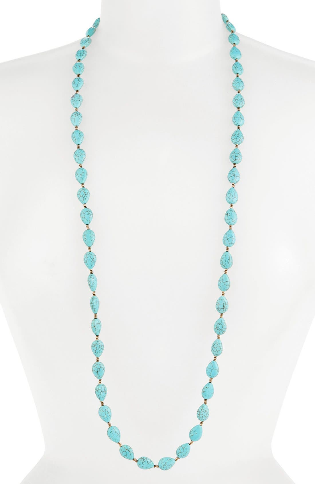 Alternate Image 1 Selected - South Sun Layering Necklace (Juniors)