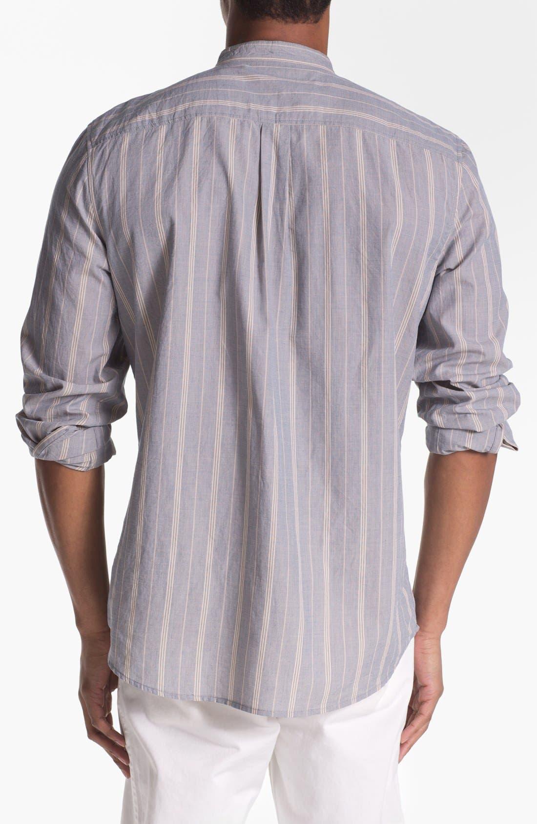 Alternate Image 2  - 7 For All Mankind® Mandarin Collar Shirt