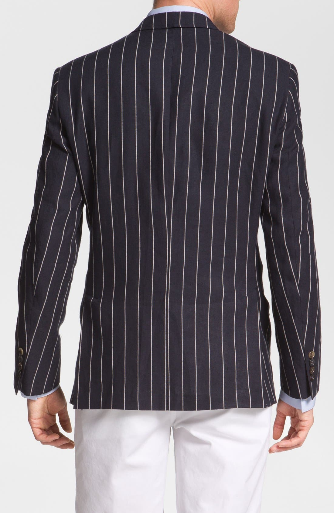 Alternate Image 2  - Ted Baker London Trim Fit Stripe Sportcoat