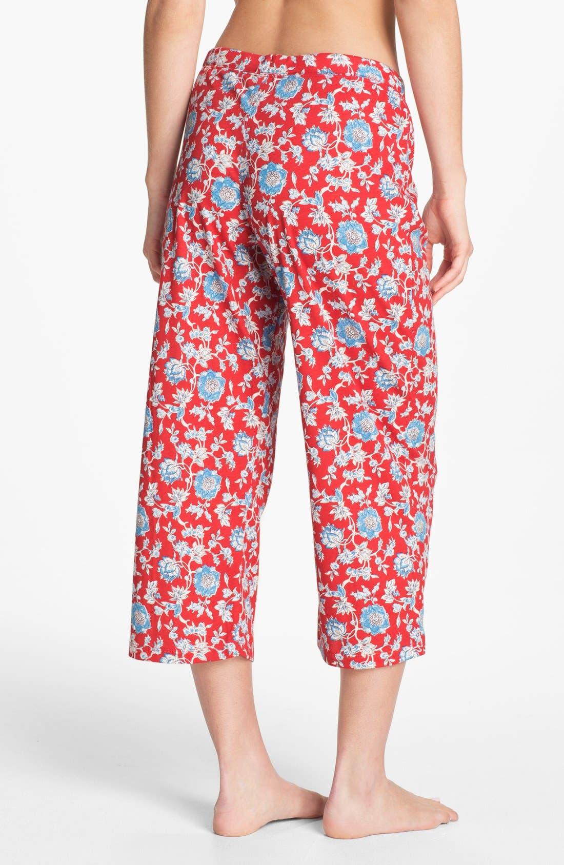 Alternate Image 2  - Lauren Ralph Lauren Capri Pajama Pants