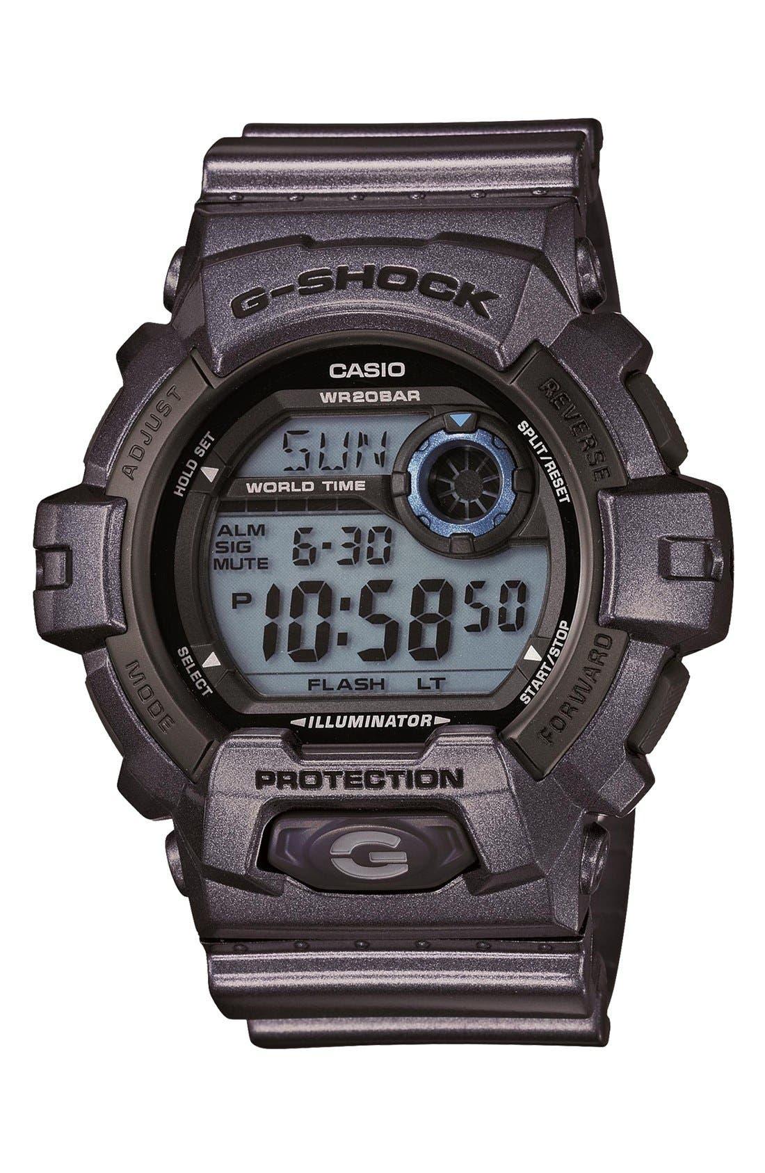 Main Image - G-Shock 'X-Large' Digital Watch, 55mm x 52mm