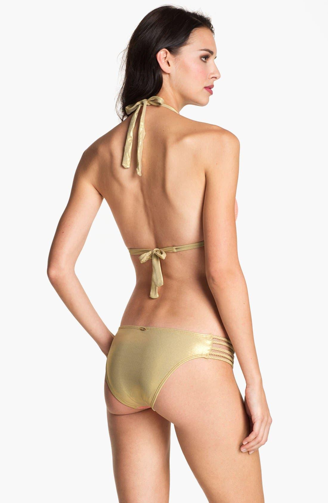 Alternate Image 4  - Luli Fama 'Delicia' Braided Side Bikini Bottom