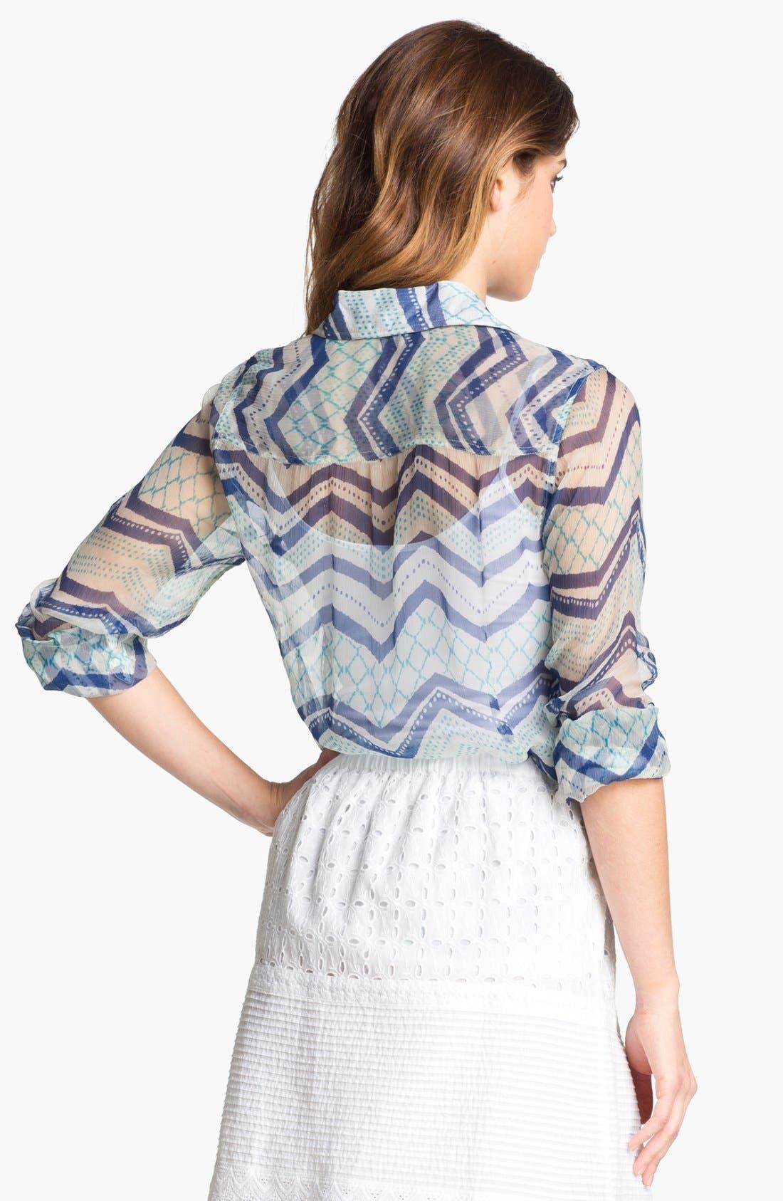 Alternate Image 2  - Lucky Brand 'Jane - Terrenea Stripe' Blouse