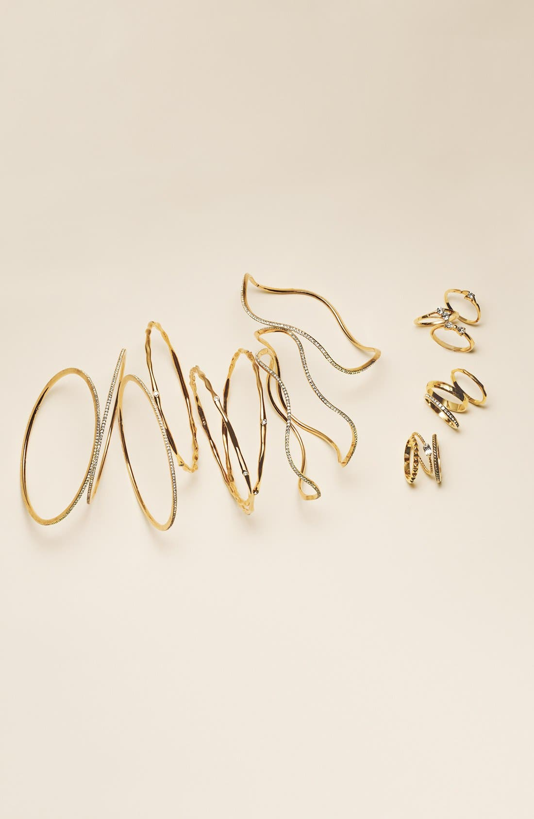 Alternate Image 2  - Ariella Collection Stackable Rings (Set of 3)