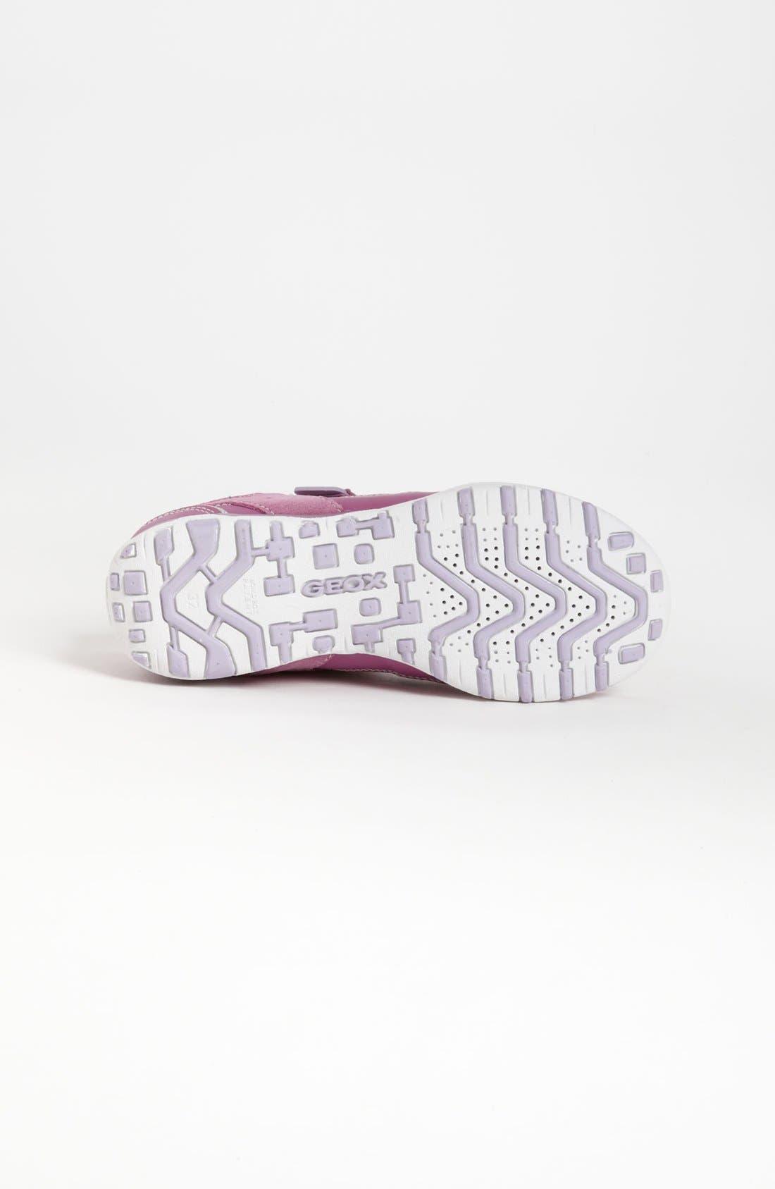 Alternate Image 4  - Geox 'Freccia G' Sneaker (Toddler, Little Kid & Big Kid)