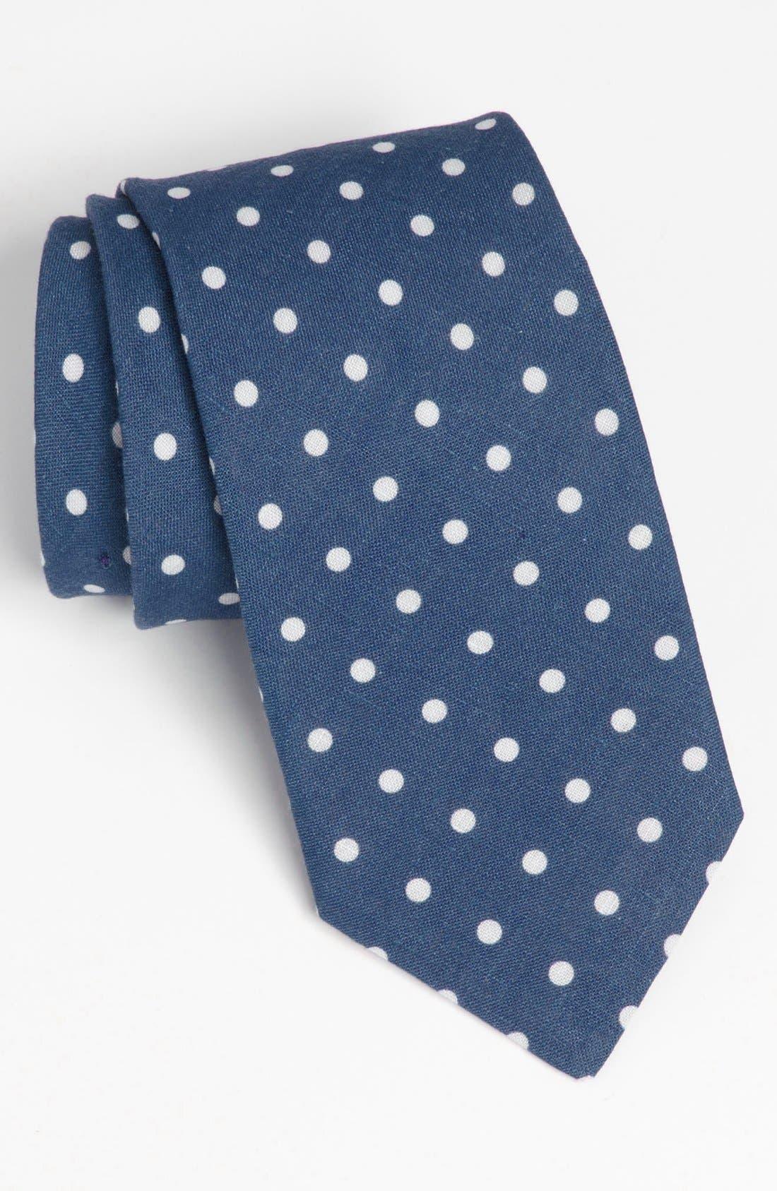 Main Image - Ted Baker London Woven Linen Tie