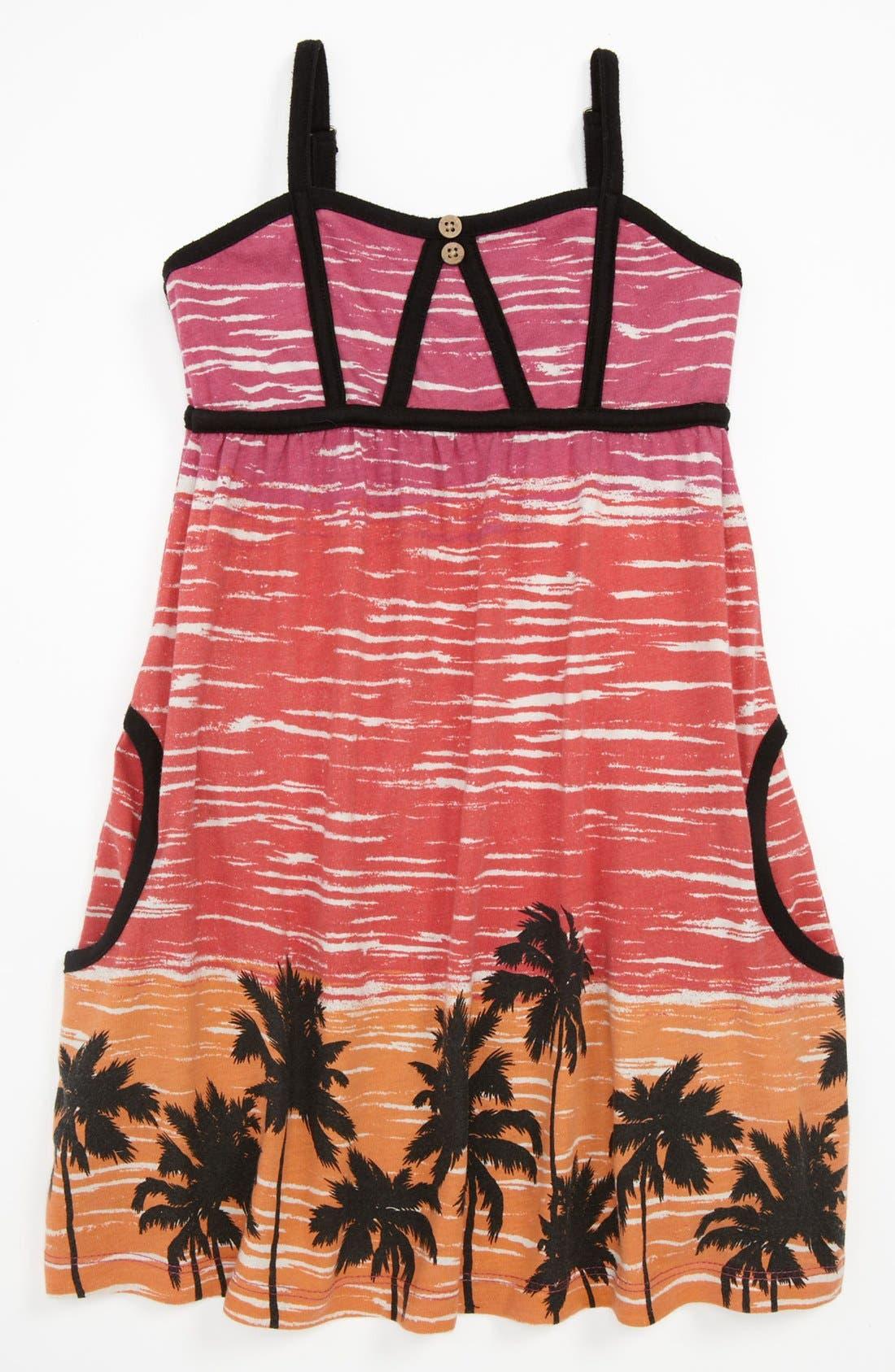 Alternate Image 1 Selected - 'Streamers' Knit Dress (Little Girls & Big Girls)