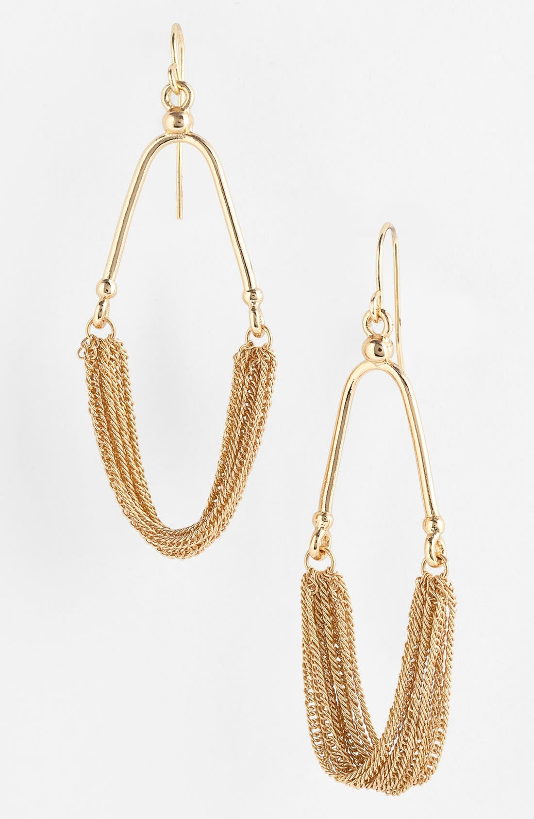 Alternate Image 1 Selected - Carbon Copy Chain Drop Earrings