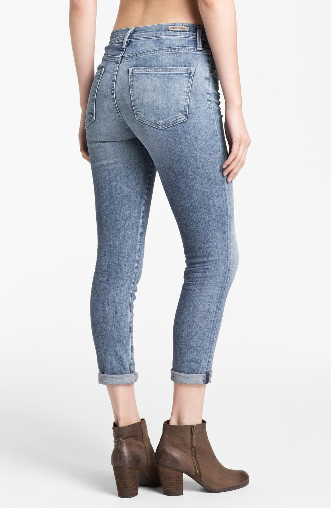 Alternate Image 2  - Citizens of Humanity 'Rocket' High Rise Skinny Jeans (Fizzle)