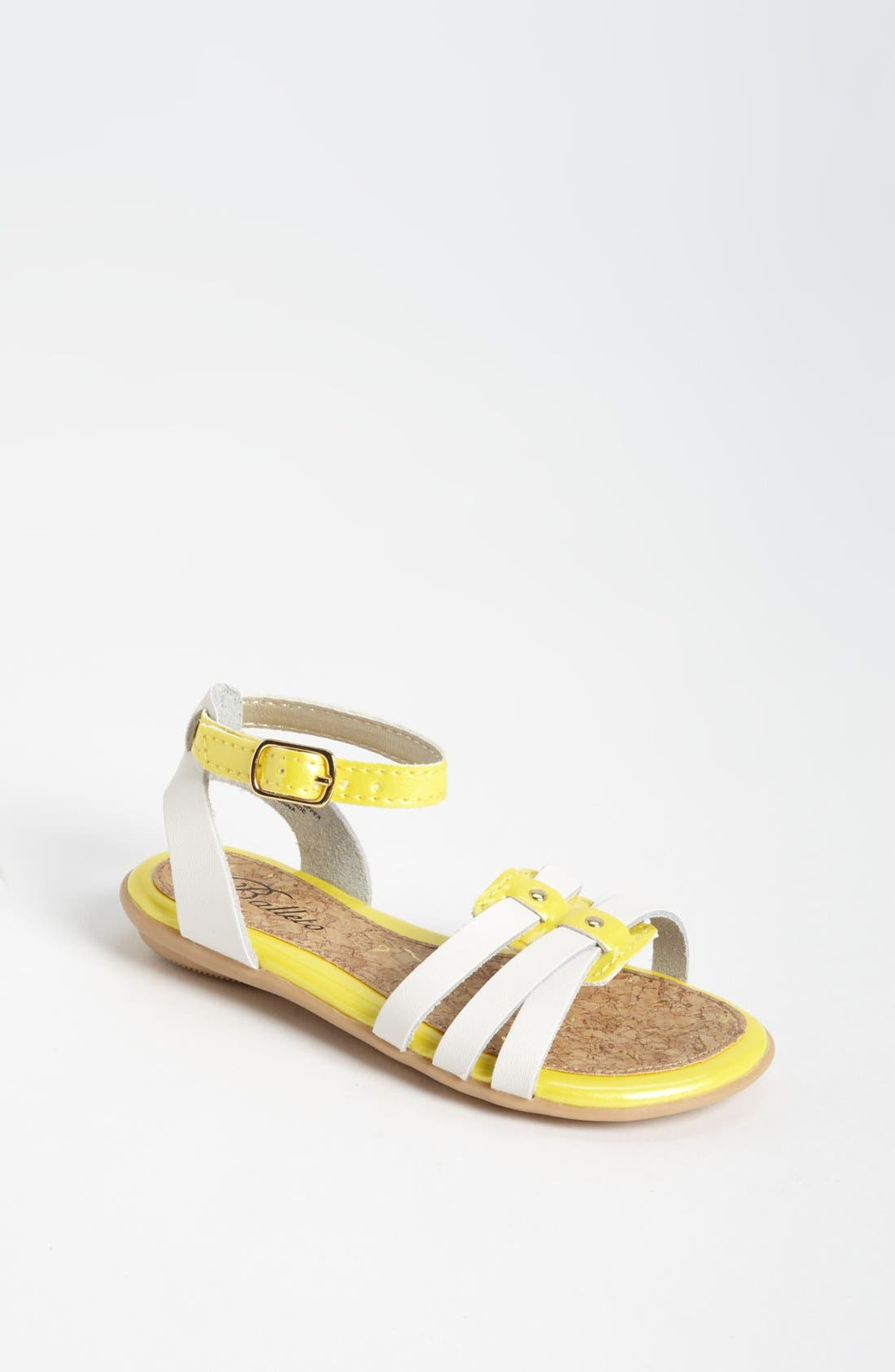 Alternate Image 1 Selected - Balleto 'Olivia' Sandal (Walker, Toddler, Little Kid & Big Kid)