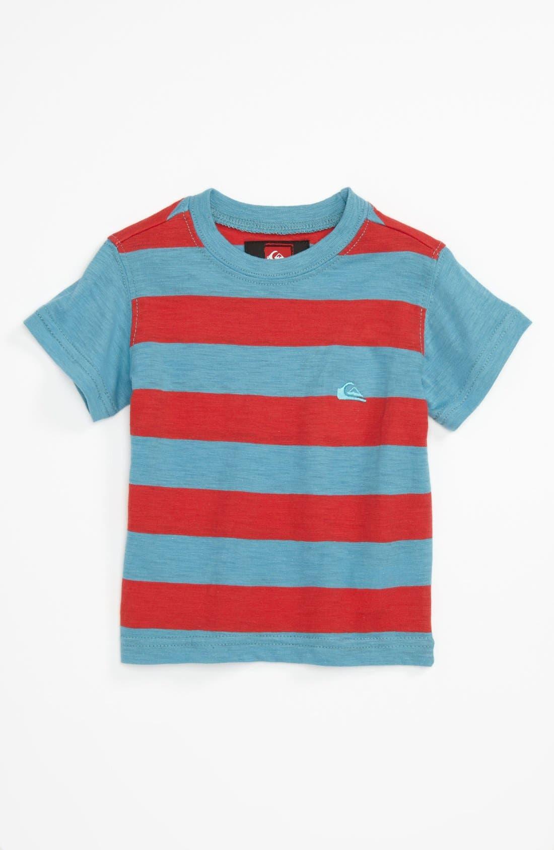 Alternate Image 1 Selected - Quiksilver 'Zebra Juice' T-Shirt (Baby)