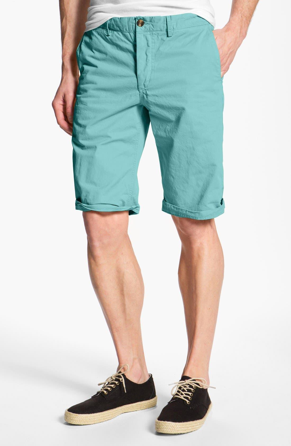 Main Image - Ben Sherman Twill Chino Shorts