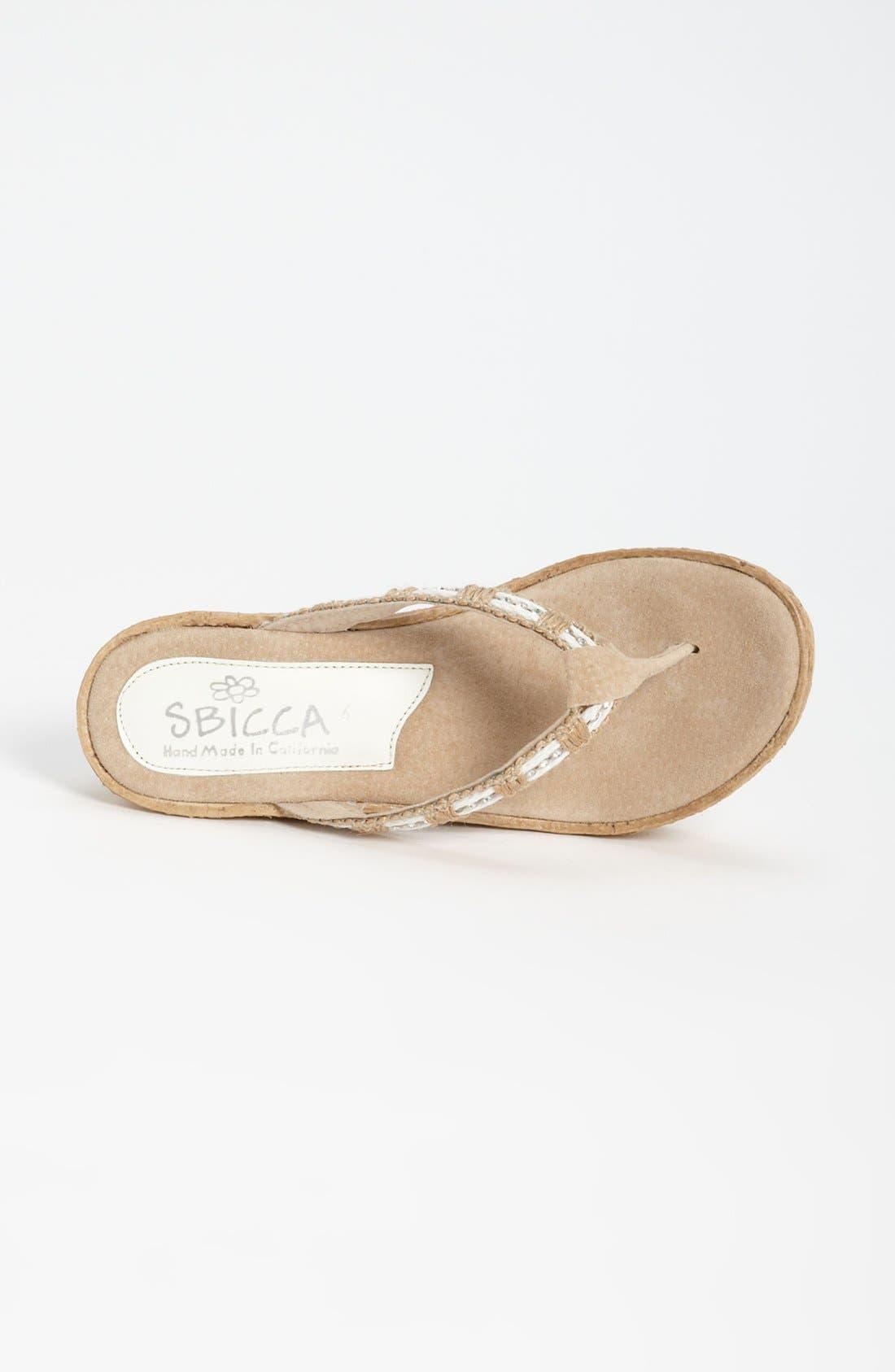 Alternate Image 3  - Sbicca 'Cora' Wedge Sandal