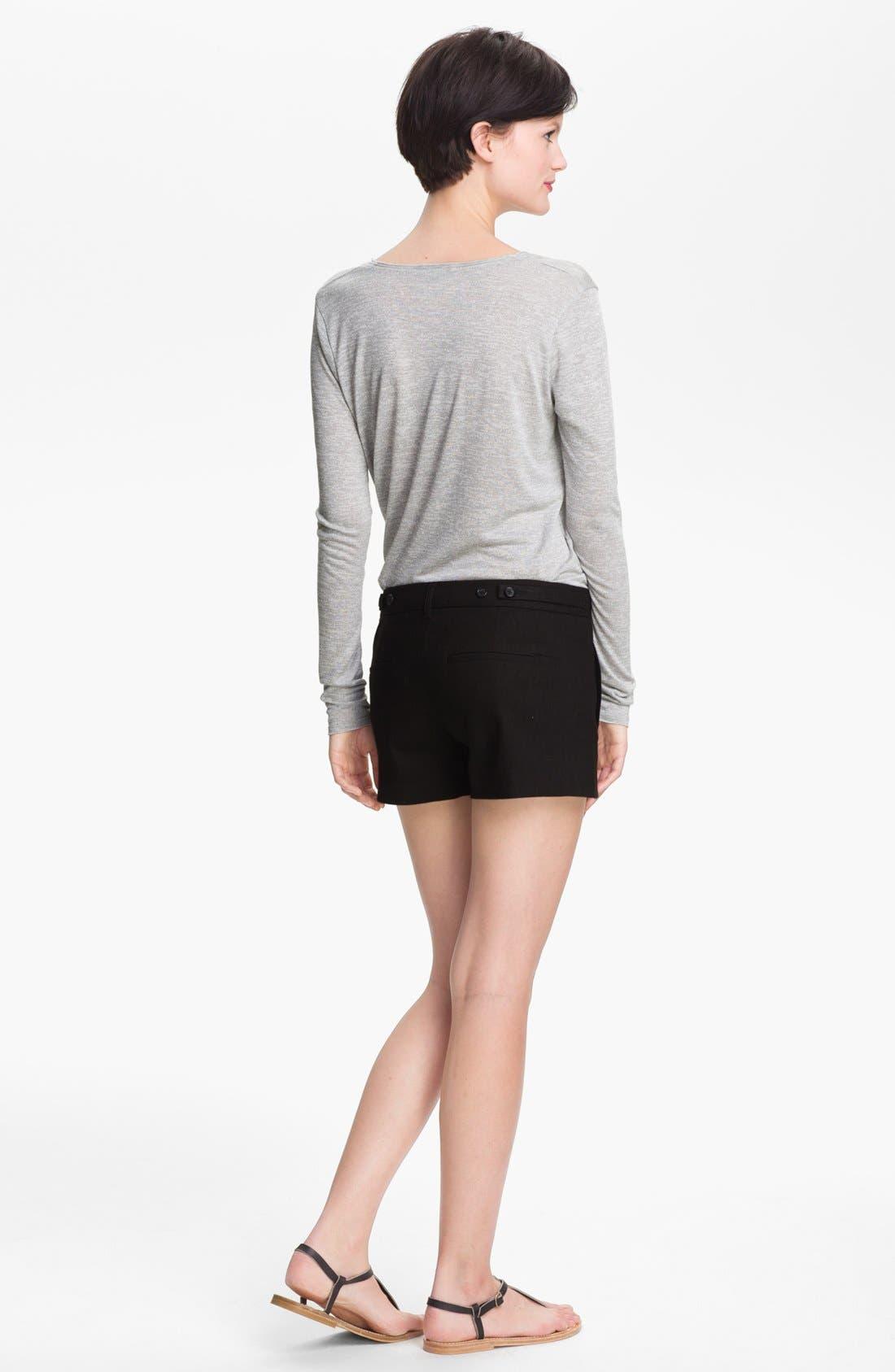Alternate Image 2  - Vince Linen Blend Shorts